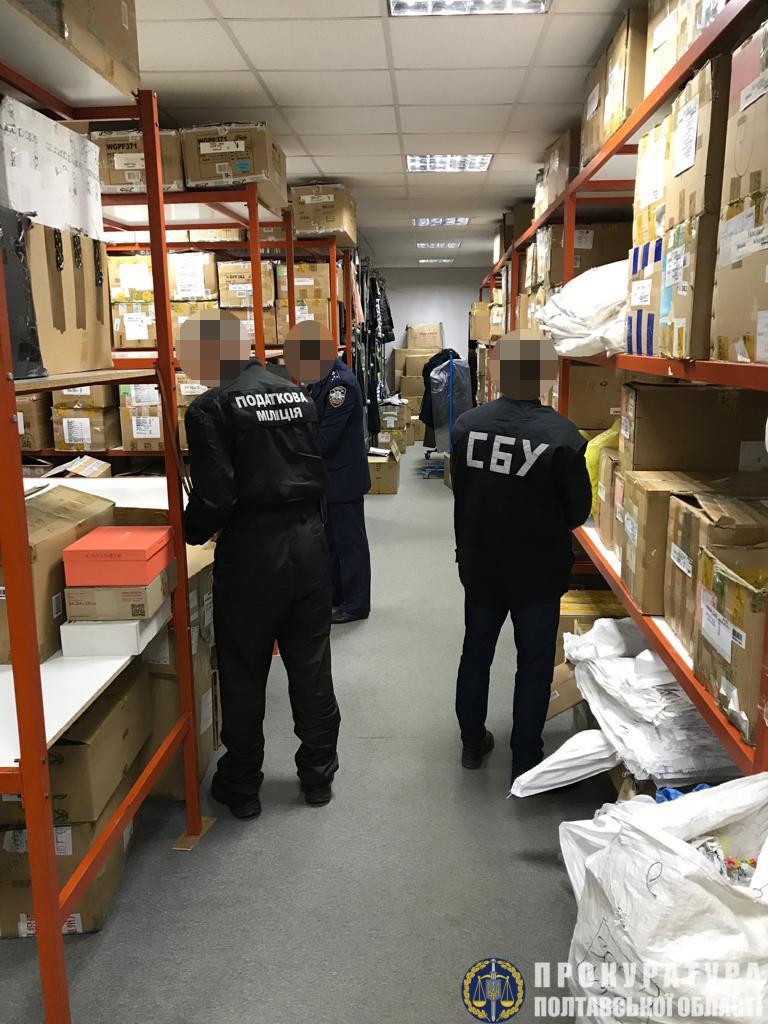 Прокуратурою Полтавщини ліквідовано канал контрабанди брендових товарів в Україну, фото-2